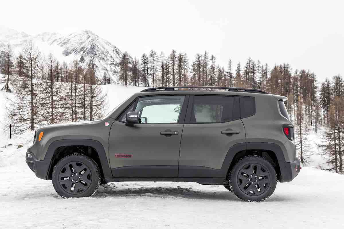 Jeep Renegade 2018 fiancata