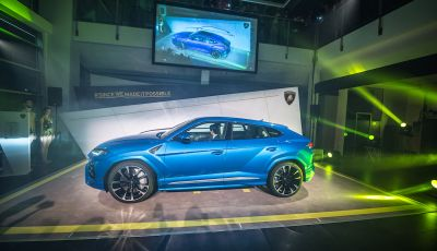 Lamborghini Urus, debutto in società con il Gruppo Bonaldi a Milano