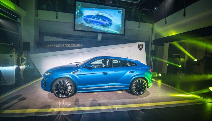 Lamborghini Urus, debutto in società con il Gruppo Bonaldi a Milano - Foto 1 di 8