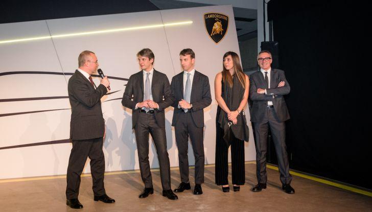 Lamborghini Urus, debutto in società con il Gruppo Bonaldi a Milano - Foto 2 di 8