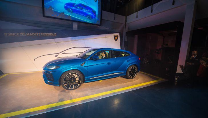 Lamborghini Urus, debutto in società con il Gruppo Bonaldi a Milano - Foto 5 di 8