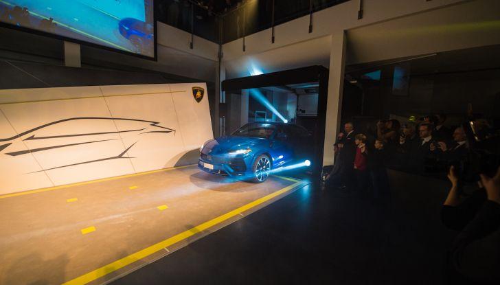 Lamborghini Urus, debutto in società con il Gruppo Bonaldi a Milano - Foto 6 di 8