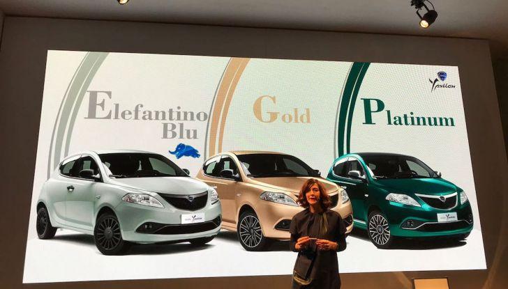 Nuova Lancia Ypsilon 2018: arrivano Elefantino Blu, Gold e Platinum - Foto 10 di 33