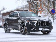 Maserati Levante GTS, primi collaudi per la variante sportiva del SUV