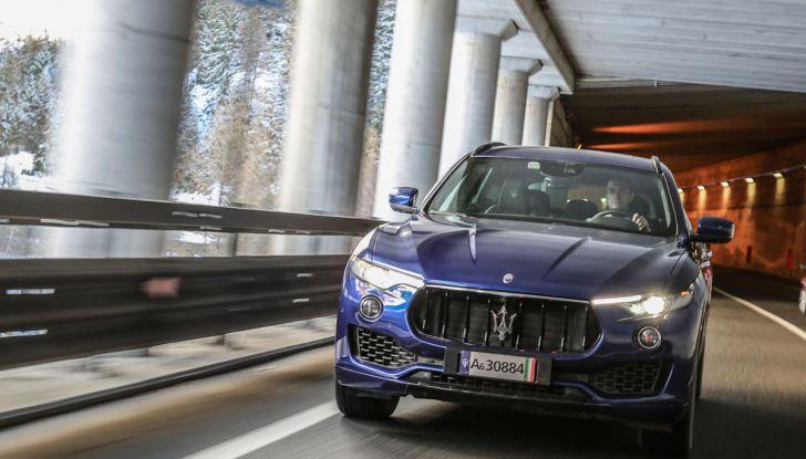 Maserati Levante GranSport 2018, prova su strada del Q4 Diesel: SUV da 275CV - Foto 45 di 46