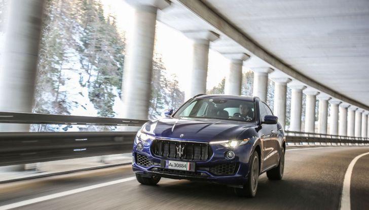 Maserati Levante GranSport 2018, prova su strada del Q4 Diesel: SUV da 275CV - Foto 5 di 46