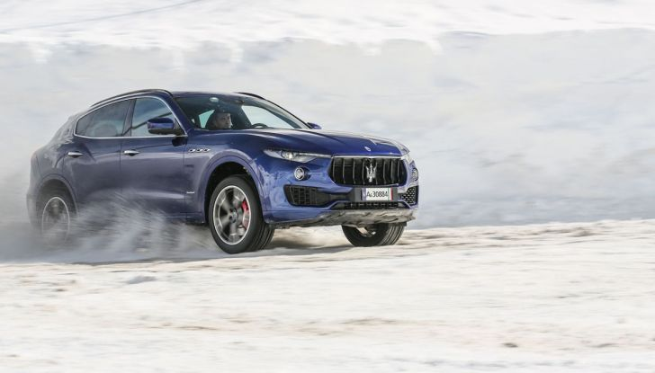 Maserati Levante GranSport 2018, prova su strada del Q4 Diesel: SUV da 275CV - Foto 25 di 46