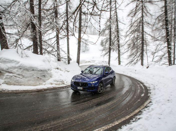Maserati Levante GranSport 2018, prova su strada del Q4 Diesel: SUV da 275CV - Foto 28 di 46