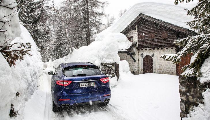 Maserati Levante GranSport 2018, prova su strada del Q4 Diesel: SUV da 275CV - Foto 30 di 46