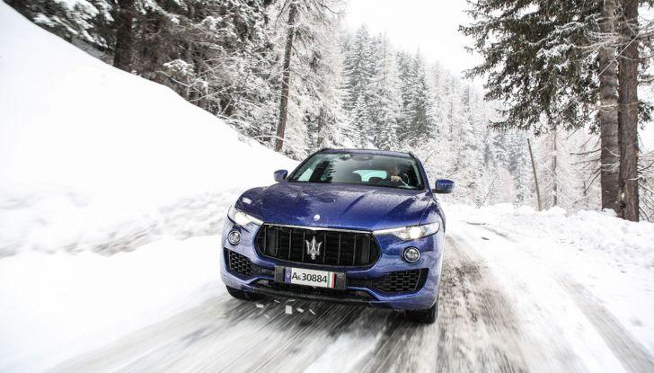Maserati Levante GranSport 2018, prova su strada del Q4 Diesel: SUV da 275CV - Foto 3 di 46