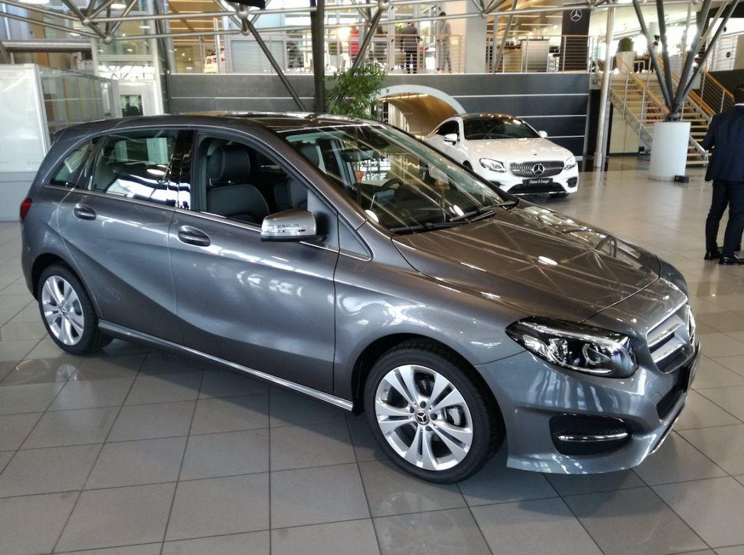 Mercedes benz classe b tech 2018 la nostra prova su for La mercedes benz