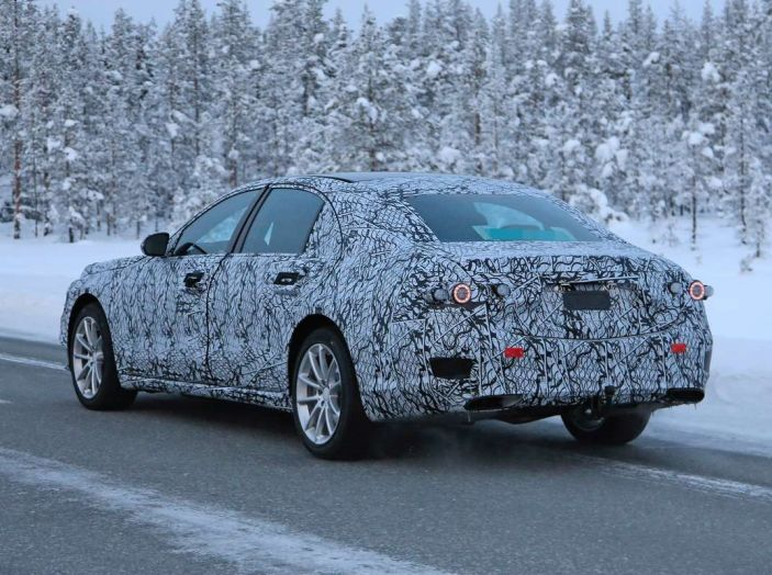 Mercedes Classe S, la nuova generazione impegnata nei test drive - Foto 17 di 17