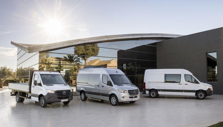 Mercedes Sprinter 2018, arriva la terza generazione - Foto 1 di 25