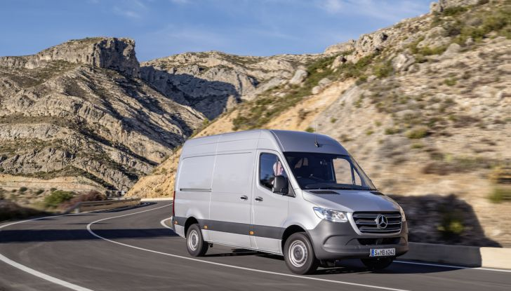 Mercedes Sprinter 2018, arriva la terza generazione - Foto 11 di 25