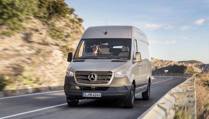 Mercedes Sprinter 2018, arriva la terza generazione - Foto 15 di 25