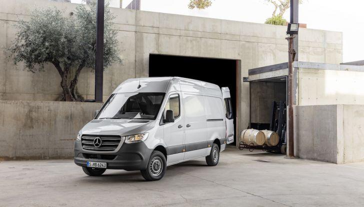 Mercedes Sprinter 2018, arriva la terza generazione - Foto 17 di 25