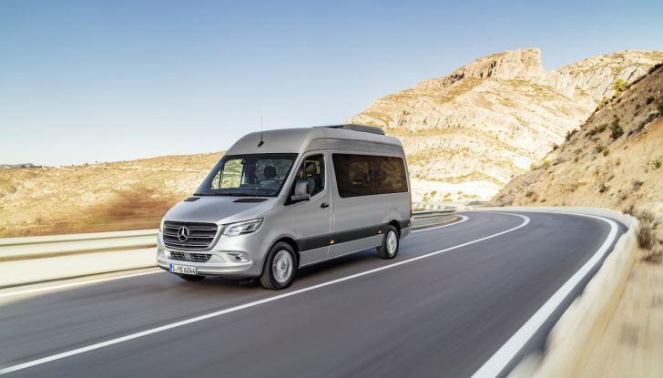 Mercedes Sprinter 2018, arriva la terza generazione - Foto 21 di 25