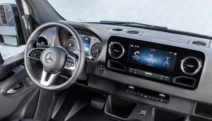 Mercedes Sprinter 2018, arriva la terza generazione - Foto 25 di 25