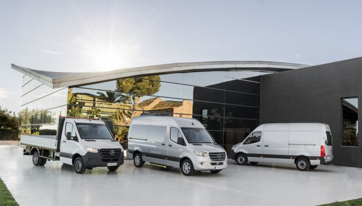 Mercedes Sprinter 2018, arriva la terza generazione - Foto 2 di 25