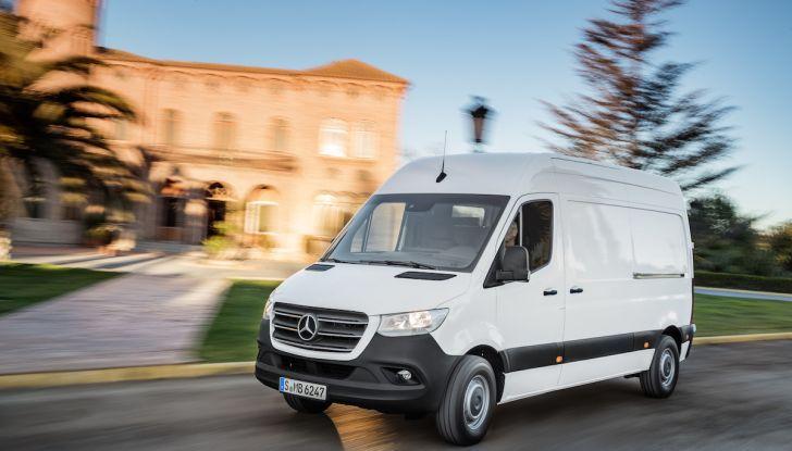 Mercedes Sprinter 2018, arriva la terza generazione - Foto 3 di 25