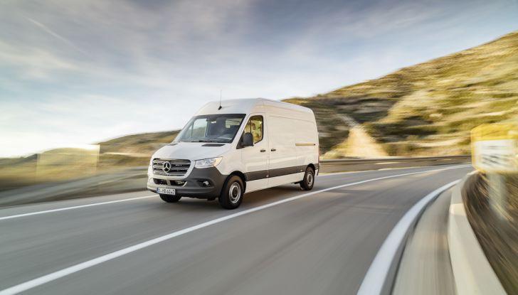 Mercedes Sprinter 2018, arriva la terza generazione - Foto 4 di 25