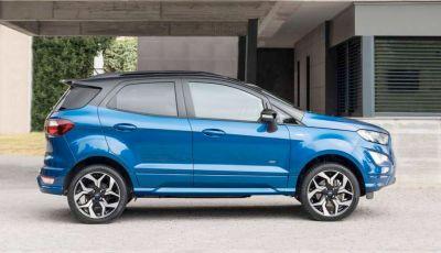Nuova Ford Ecosport Plus a rate da 149 euro al mese