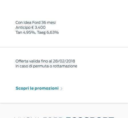 Nuova Ford Ecosport Plus a rate da 149 euro al mese - Foto 3 di 14