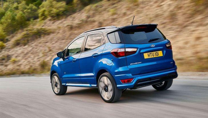 Nuova Ford Ecosport Plus a rate da 149 euro al mese - Foto 4 di 14
