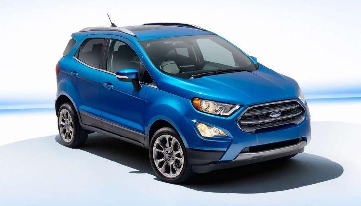 Nuova Ford Ecosport Plus a rate da 149 euro al mese - Foto 5 di 14