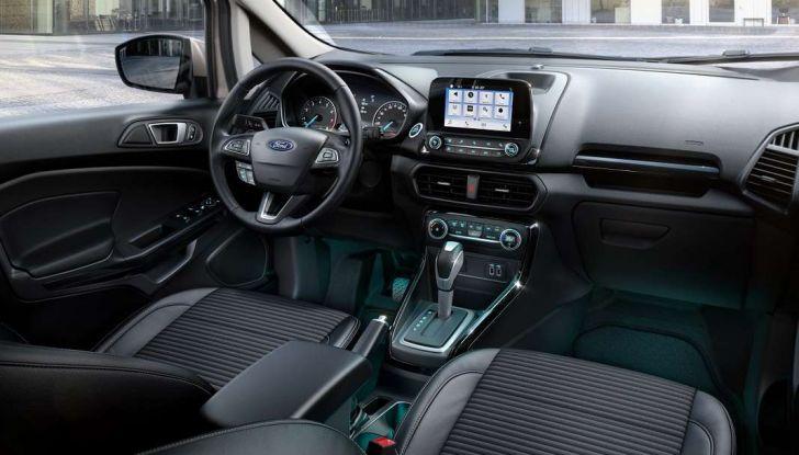 Nuova Ford Ecosport Plus a rate da 149 euro al mese - Foto 6 di 14