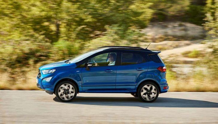 Nuova Ford Ecosport Plus a rate da 149 euro al mese - Foto 7 di 14