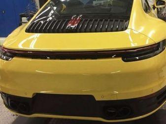 Nuova Porsche 911 2019, le prime immagini senza veli