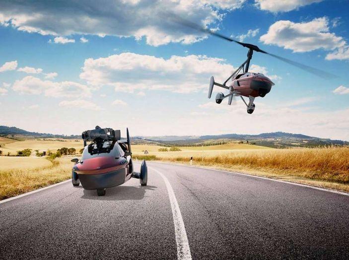 Pal-V Liberty, l'auto volante arriva a Ginevra