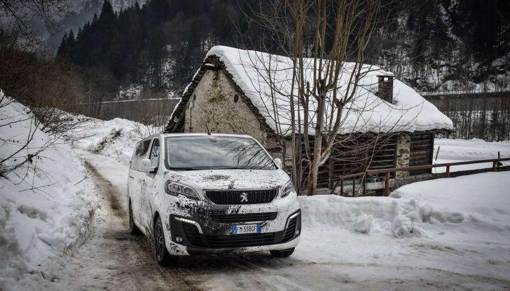 Peugeot Traveller Traction Control, il multispazio con trazione integrale - Foto 6 di 9