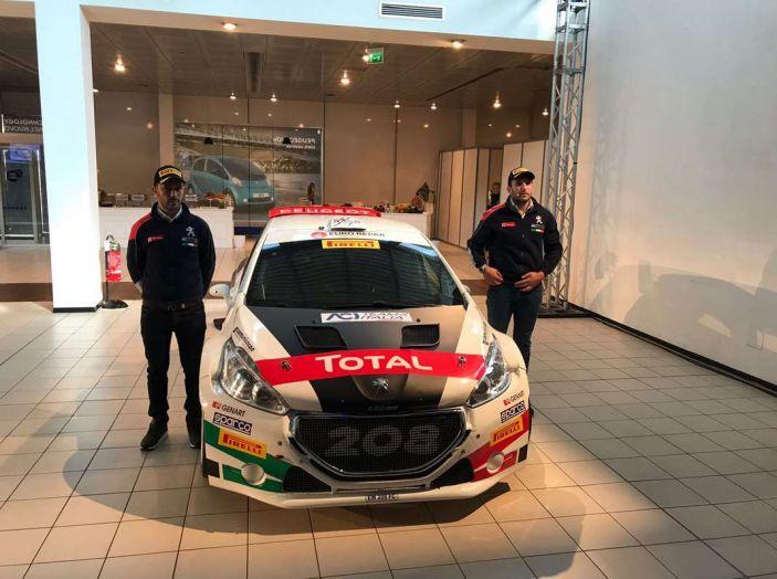 Peugeot presenta i team del Campionato Italiano Rally (CIR) 2018 - Foto 3 di 40