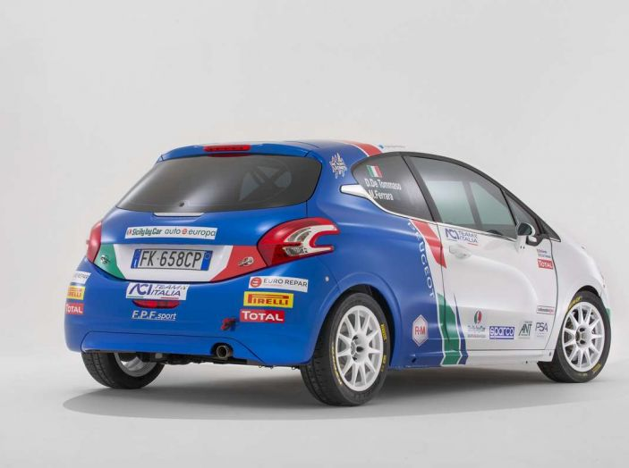 Peugeot presenta i team del Campionato Italiano Rally (CIR) 2018 - Foto 12 di 40