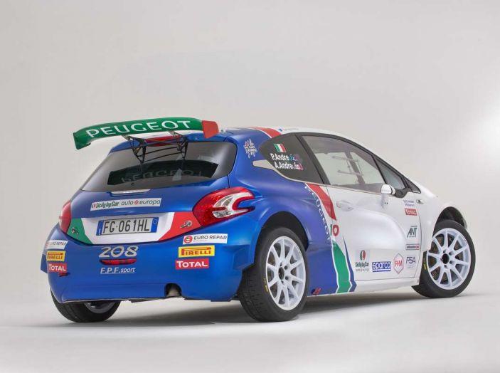 Peugeot presenta i team del Campionato Italiano Rally (CIR) 2018 - Foto 15 di 40