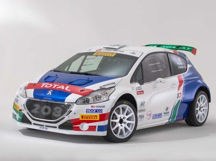 Peugeot presenta i team del Campionato Italiano Rally (CIR) 2018 - Foto 16 di 40