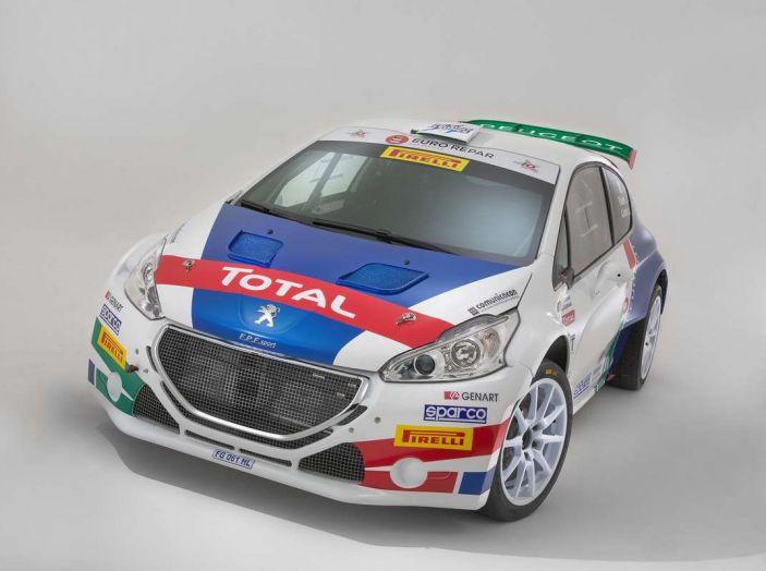 Peugeot presenta i team del Campionato Italiano Rally (CIR) 2018 - Foto 18 di 40