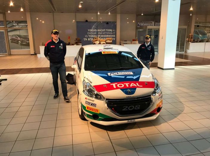 Peugeot presenta i team del Campionato Italiano Rally (CIR) 2018 - Foto 6 di 40