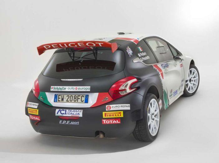 Peugeot presenta i team del Campionato Italiano Rally (CIR) 2018 - Foto 23 di 40