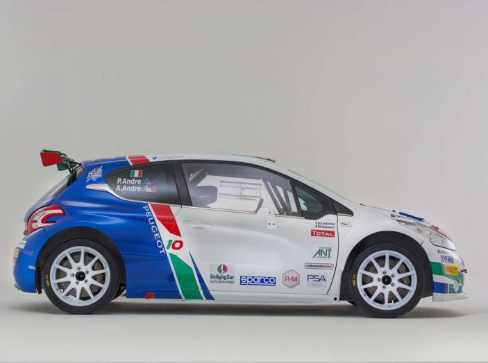 Peugeot presenta i team del Campionato Italiano Rally (CIR) 2018 - Foto 26 di 40