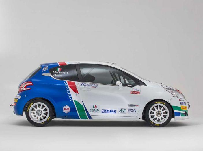 Peugeot presenta i team del Campionato Italiano Rally (CIR) 2018 - Foto 27 di 40