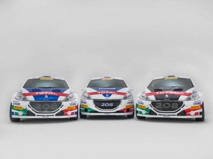 Peugeot presenta i team del Campionato Italiano Rally (CIR) 2018 - Foto 28 di 40
