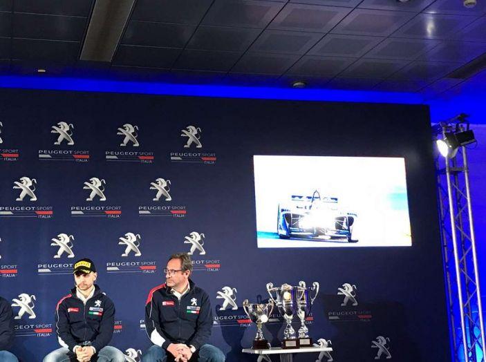 Peugeot presenta i team del Campionato Italiano Rally (CIR) 2018 - Foto 7 di 40