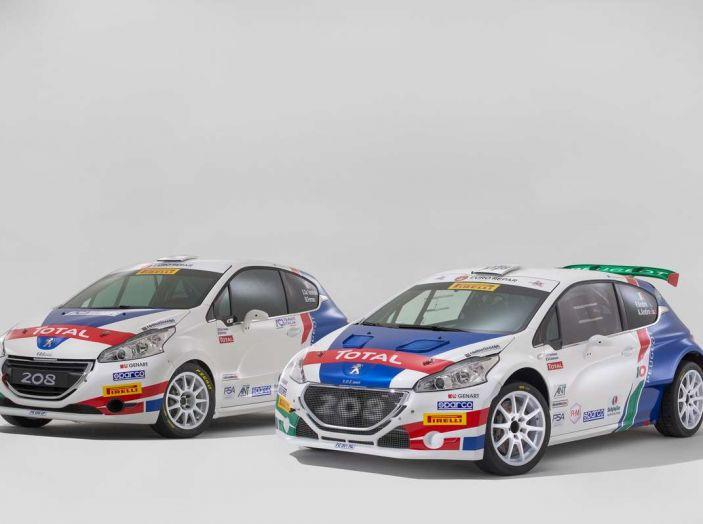 Peugeot presenta i team del Campionato Italiano Rally (CIR) 2018 - Foto 36 di 40