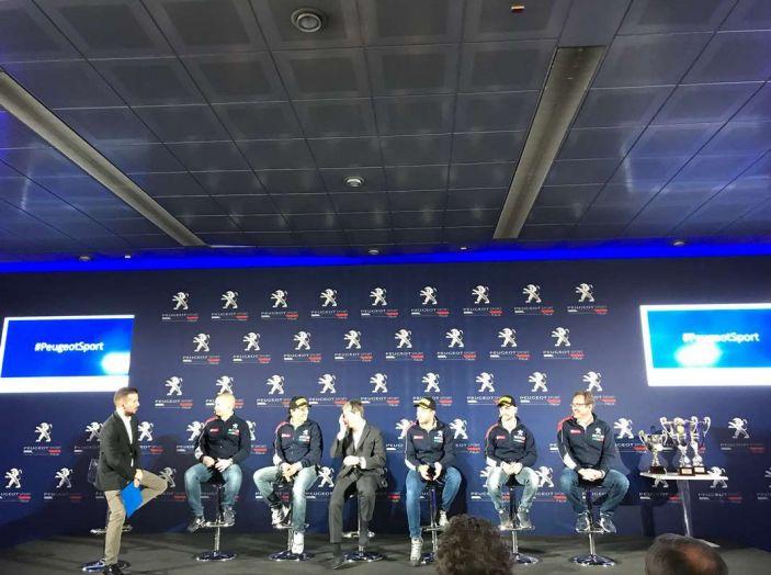 Peugeot presenta i team del Campionato Italiano Rally (CIR) 2018 - Foto 38 di 40