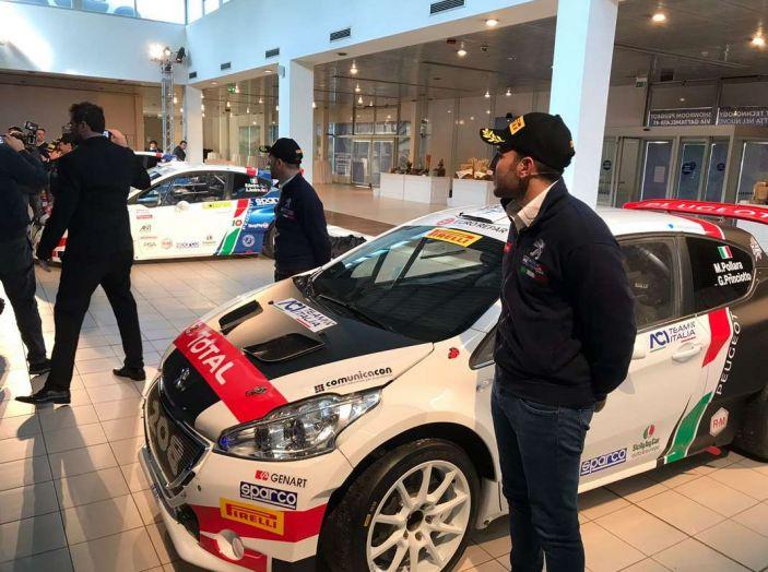 Peugeot presenta i team del Campionato Italiano Rally (CIR) 2018 - Foto 2 di 40