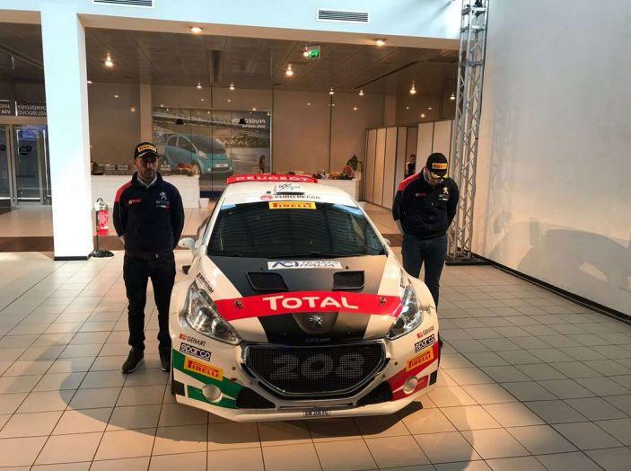 Peugeot presenta i team del Campionato Italiano Rally (CIR) 2018 - Foto 5 di 40