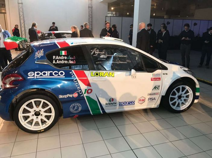 Peugeot presenta i team del Campionato Italiano Rally (CIR) 2018 - Foto 39 di 40